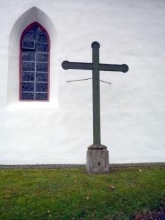 Kreuz vor der Alten Kirche (Mission 1852)